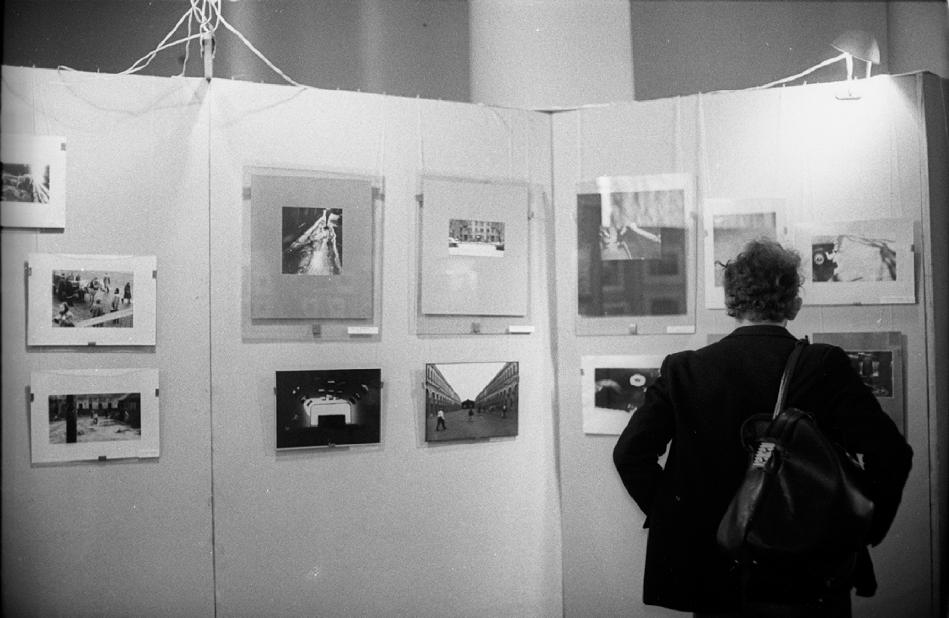 Фото с выставки в ДК МГУ 1987