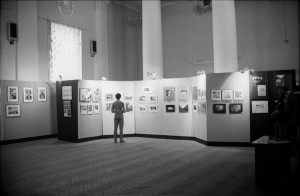 Выставка в ДК МГУ 1987©Александр Олевский
