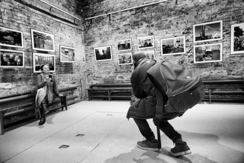 Выставка «Москва» Артема Житенева в ЧБ ©Александр Олевский